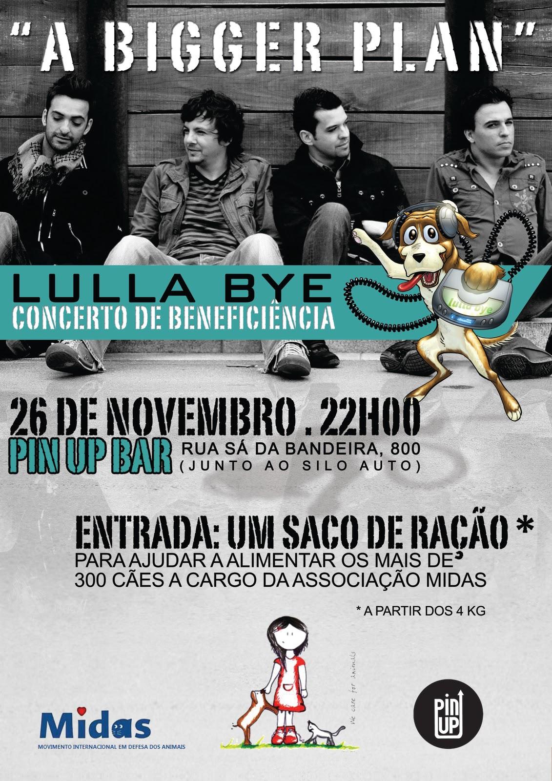 LULLA BYE – Concerto de Beneficiência 26/Nov às 22h00